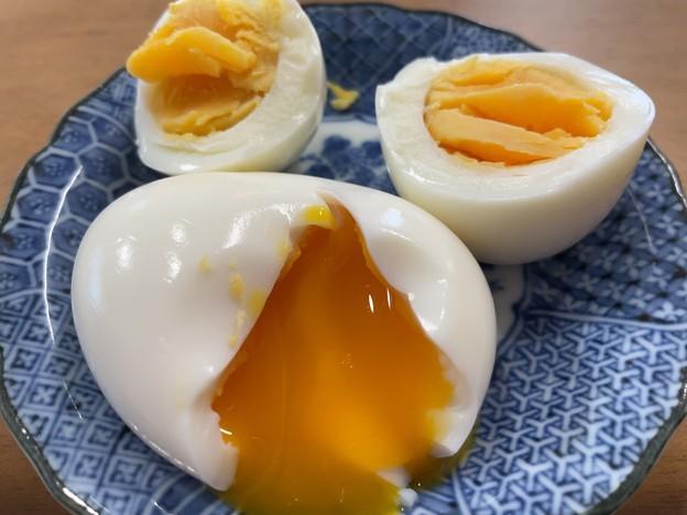 名古屋コーチン卵2-2――半熟・完熟