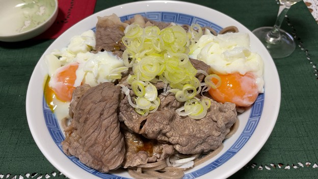 佐賀牛2-4 ・岩手土川そば――肉そば