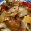 Photos: 淡路島たまねぎ2――酢豚に加えて(゜ω、゜)