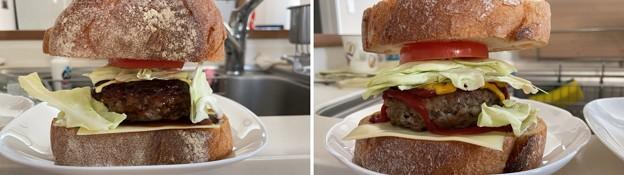 飛騨牛ハンバーグ3――自家製ハンバーガー2(゜▽、゜)