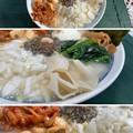 Photos: 信州牛 にんにく肉味噌2 + 淡路島たまねぎ8 + 奈良明日香きくらげ5 + スガキヤラーメン