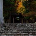 夕暮れの秋・常照皇寺