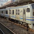 JR東日本横浜支社E217系(春の津田沼駅にて)