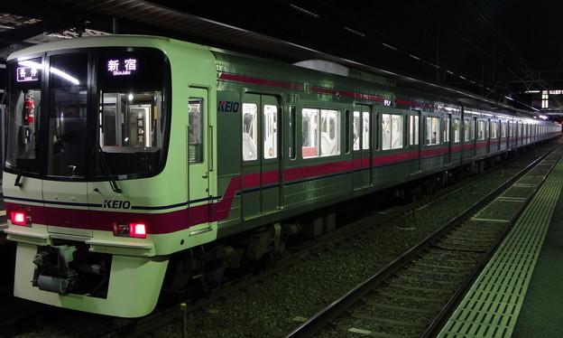 Photos: 京王線系統8000系(多磨霊園駅にて)
