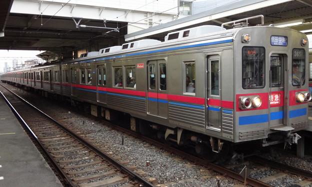 京成電鉄3600形(皐月賞の帰り)