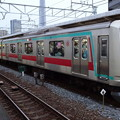 写真: 東急電鉄5000系による東武スカイツリーライン急行(小林麻央氏旅立ちの日に曳舟駅で撮影)