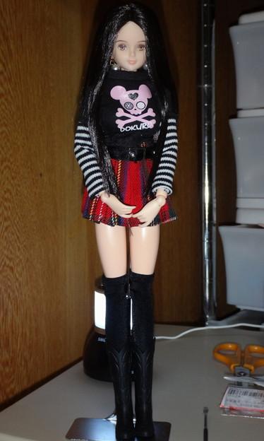 ジェニーファッションウェア「W22」を着たREINA