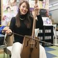 Photos: 守永真彩(真矢RADIOの放送前にて)