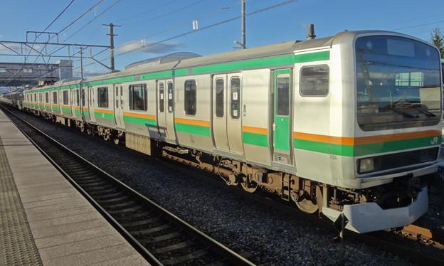 JR東日本横浜支社 湘南新宿ラインE231系