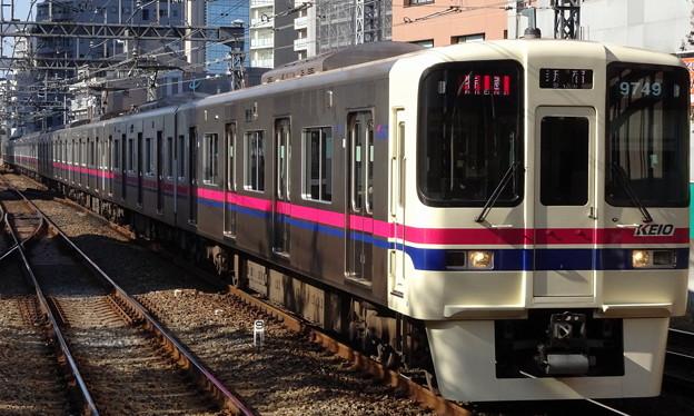京王線系統9000系(ジャパンカップ当日の府中駅にて)