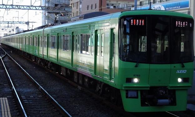 京王線系統8000系(根岸ステークス当日の府中駅にて)