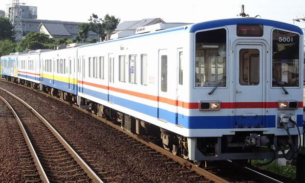 関東鉄道常総線キハ5000形+キハ5010形