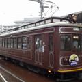 Photos: 嵐電(京福電鉄嵐山線)モボ21型