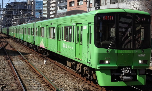 京王線系統8000系(フェブラリーステークス当日)