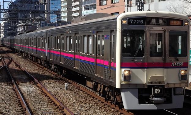 京王線系統7000系(フェブラリーステークス当日)