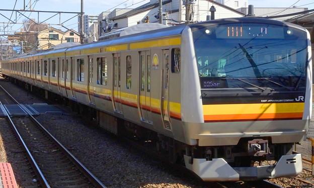 JR東日本南武線E233系(フェブラリーステークス当日)