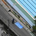 大阪地震で倒壊した高槻市立寿栄小学校のブロック塀