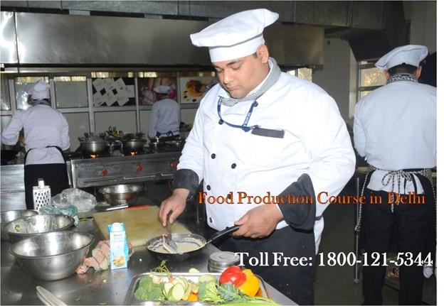 Food Production Course in Delhi