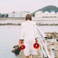 Photos: Red loudspeaker