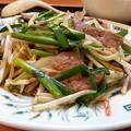 Photos: 日高屋 ニラレバ食べて スタミナつける\(^o^)/