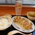 Photos: 日高屋 餃子半ライス定食 レモンサワー 二杯目\(^-^)/