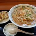 日高屋 味噌ラーメン 半餃子