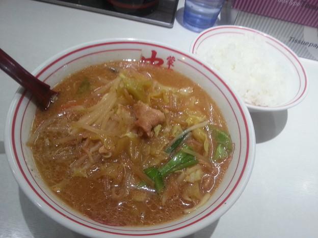 蒙古タンメン中本 味噌タンタン+ご飯大盛り無料