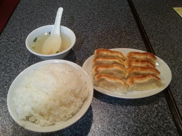 餃子房 元祖餃子 並盛定食
