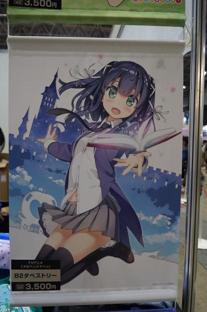 アニメジャパン2018 メルヘン・メドヘン 葉月B2タペストリー