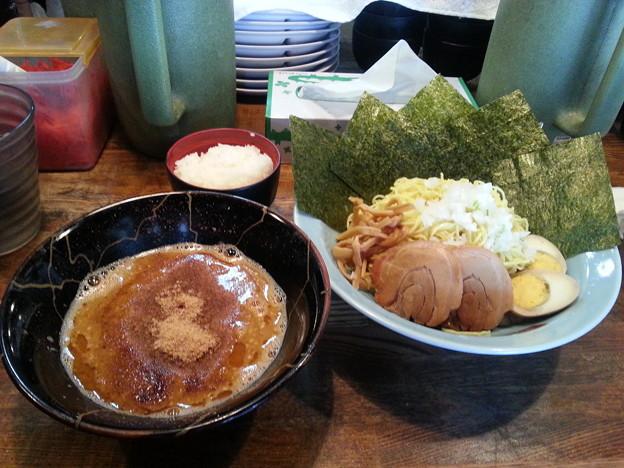 長浜ラーメン 味噌つけ麺 ミニライス無料