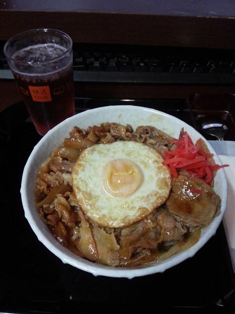 快活クラブ 豚スタミナ丼 ご飯大盛りダヨーン(  ̄▽ ̄)