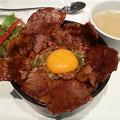 写真: 豚丼