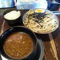 夜鳴き軒 つけ麺大盛り&ご飯無料ダヨーン(  ̄▽ ̄)