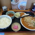 Photos: 山田うどん ピリ辛味噌ラーメン ライス(大)&コロッケカレー