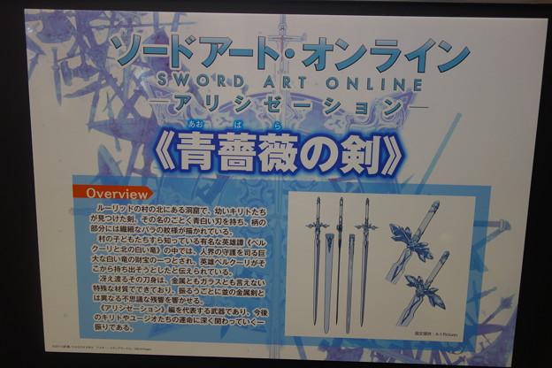 ソードアート・オンライン アリシゼーション 青薔薇の剣
