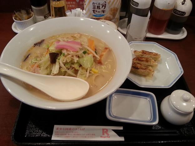 リンガーハットで飯デース(*^^*)