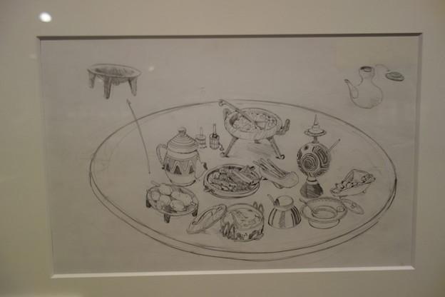 オネアミスの翼 食べ物イラスト