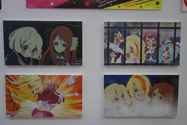 ゾンビランドサガ アニメ場面写真パネル