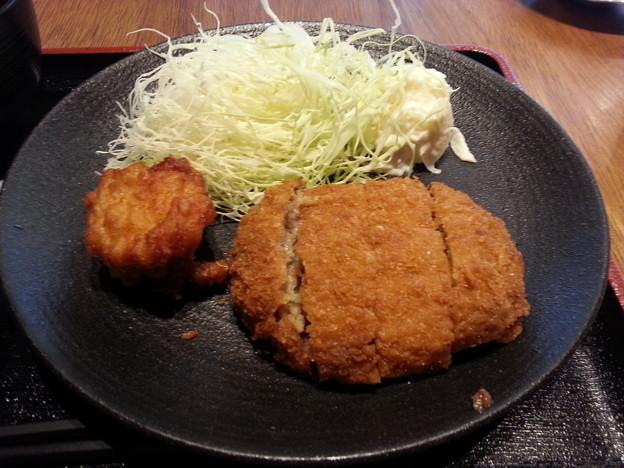 メンチカツ 美味しい(^-^)v