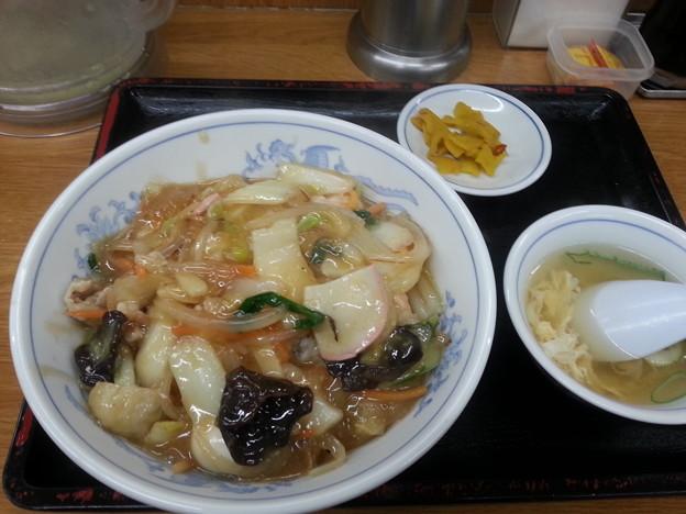 中華丼 大盛り (*^^*)