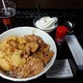 快活CLUB 塩焼鳥&とり天丼 美味しい(^-^)v