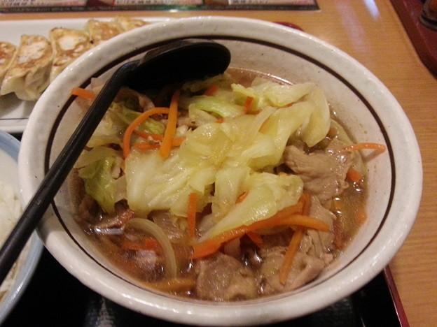 野菜そば  美味しいデース(^-^)v 体が温まった♪