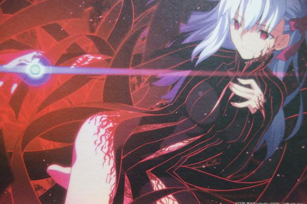 劇場版 Fate/stay night  来場者特典 闇落ち桜イラストボード