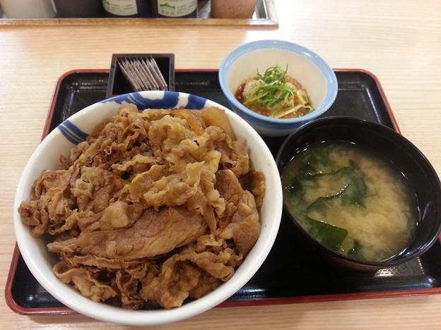松屋  おろしポン酢 牛丼