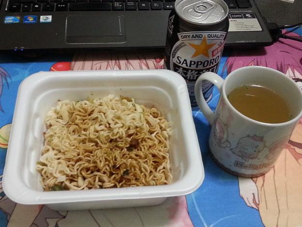 やきそば弁当 中華スープ付き 美味しい(*^^*)