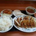 Photos: 日高屋 餃子定食 ご飯大盛り\(^o^)/