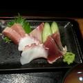 Photos: 刺身 なかなか美味しい(*^^*)