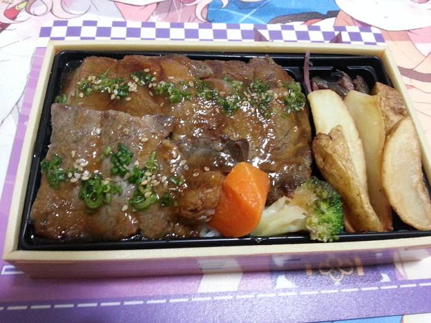 牛肉弁当 美味しい(^q^)
