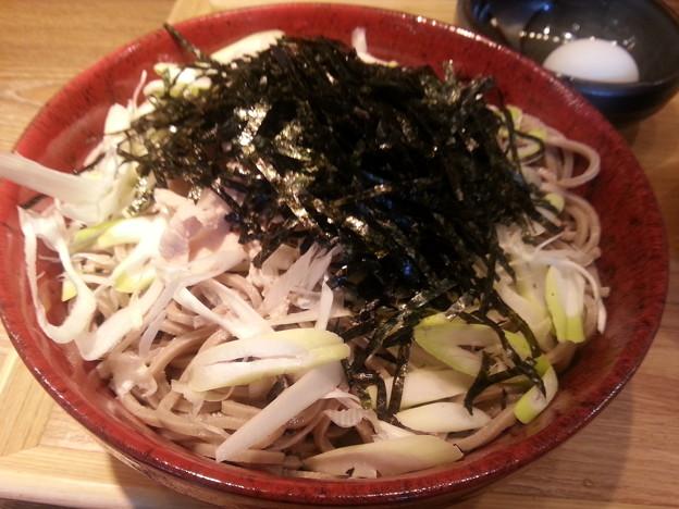 つけ蕎麦 特盛 お腹もういっぱい(^o^)v