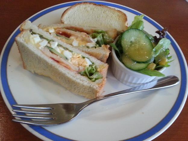 珈琲館ハウスホットサンドイッチ